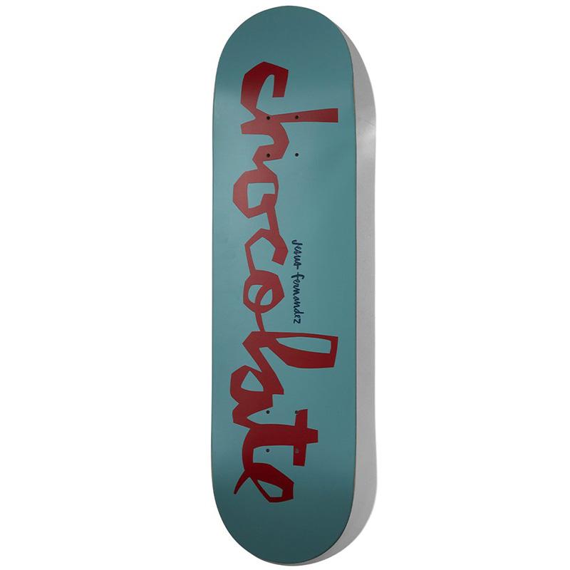 Chocolate Fernandez OG Chunk Skateboard Deck 8.25