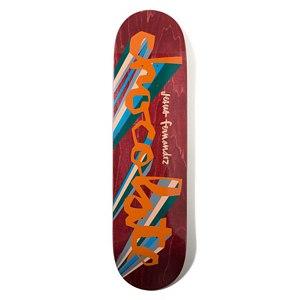 Chocolate Fernandez Original Chunk Skateboard Deck 8.25