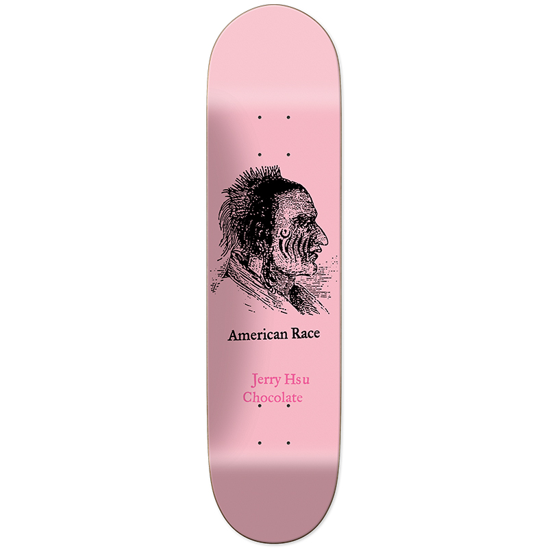 Chocolate Hsu American Race Skateboard Deck 8.25