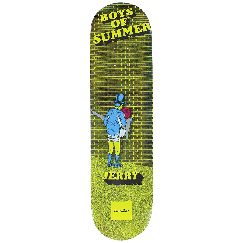 Chocolate Hsu Boys of Summer Skateboard Deck 8.0