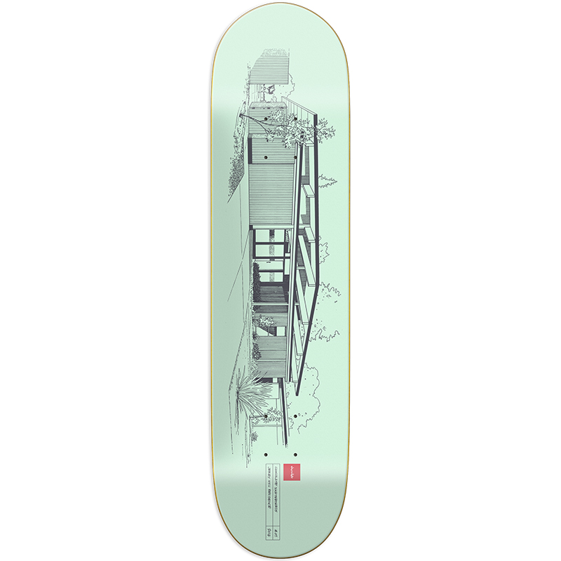 Chocolate Hsu Modern Homes Skateboard Deck 8.25