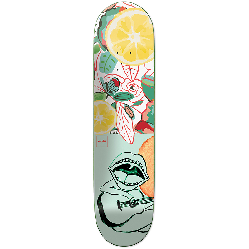 Chocolate Hsu Tropicalia Skateboard Deck 8.0