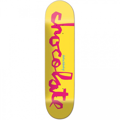 Chocolate Justin Eldridge Original Chunk Skateboard Deck 8.25
