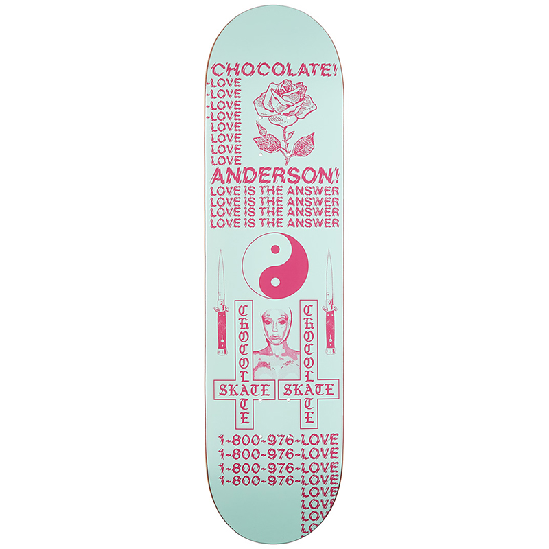 Chocolate Kenny Anderson Darkside Skateboard Deck 8.125