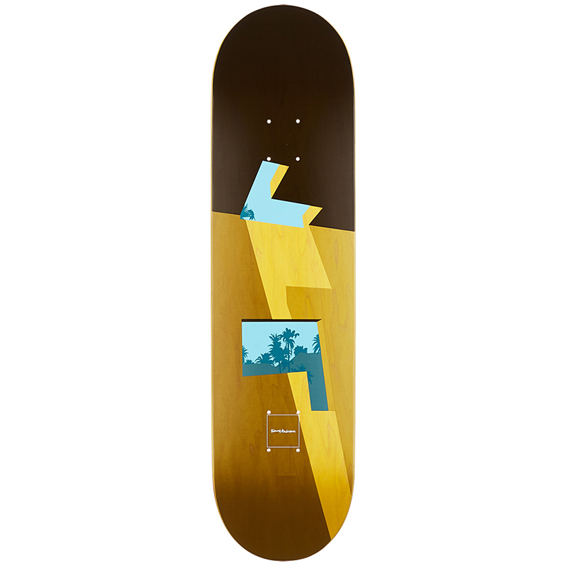 Chocolate Kenny Anderson Minimalist Skateboard Deck 8.125