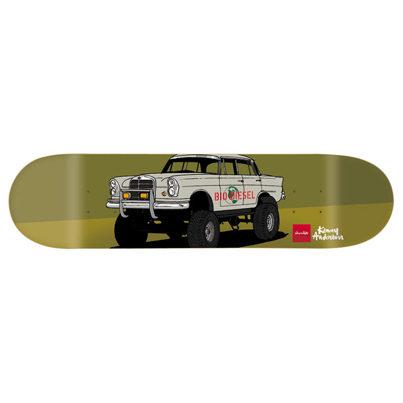 Chocolate Kenny Anderson Monster Trucks Skateboard Deck 8.125