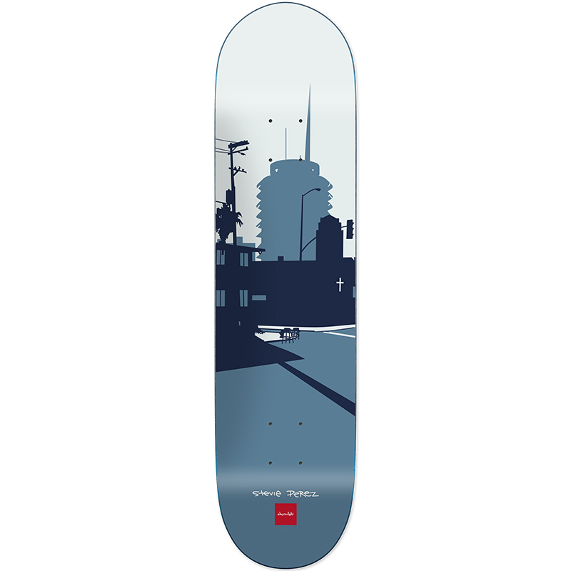 Chocolate Perez City Series Skateboard Deck 8.375