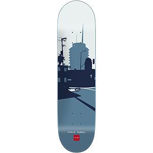 Chocolate Perez City Series Skateboard Deck 8.375