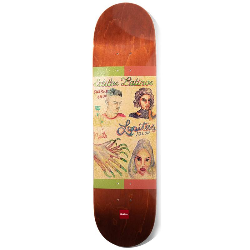 Chocolate Perez Cuts Skateboard Deck 8.375
