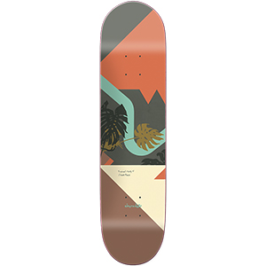 Chocolate Perez Hecox Tropical Skateboard Deck 8.375