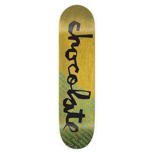 Chocolate Perez Original Chunk Skateboard Deck 8.375