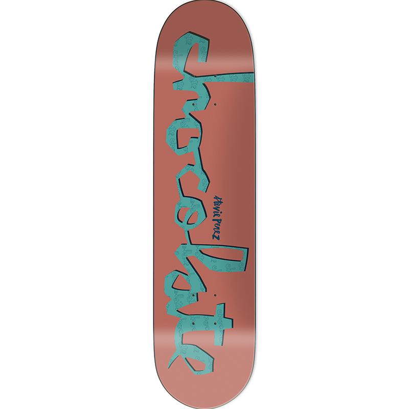 Chocolate Perez Original Chunk Skateboard Deck 8.0