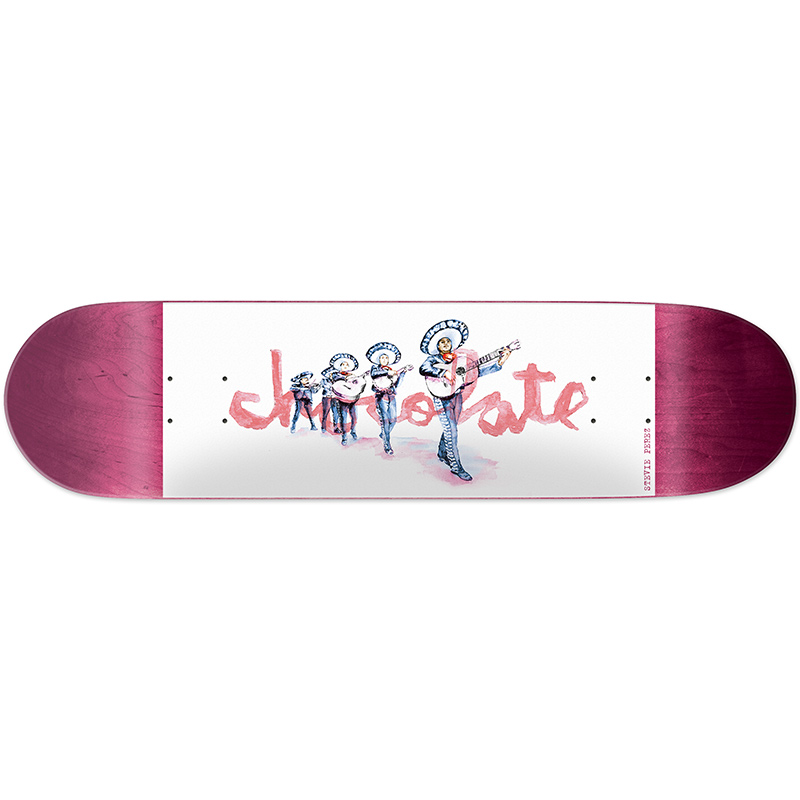 Chocolate Perez Tradiciones Skateboard Deck 8.25