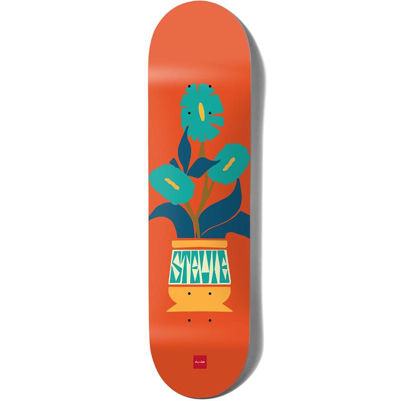 Chocolate Plantasia Stevie Perez Skateboard Deck 8.375