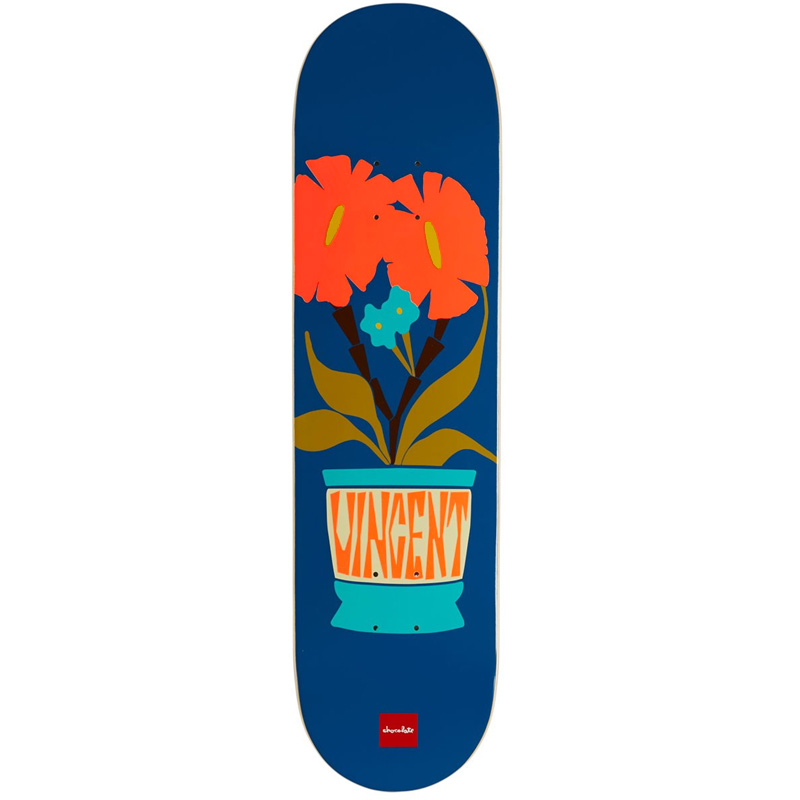 Chocolate Plantasia Vincent Alvarez Skateboard Deck 8.25