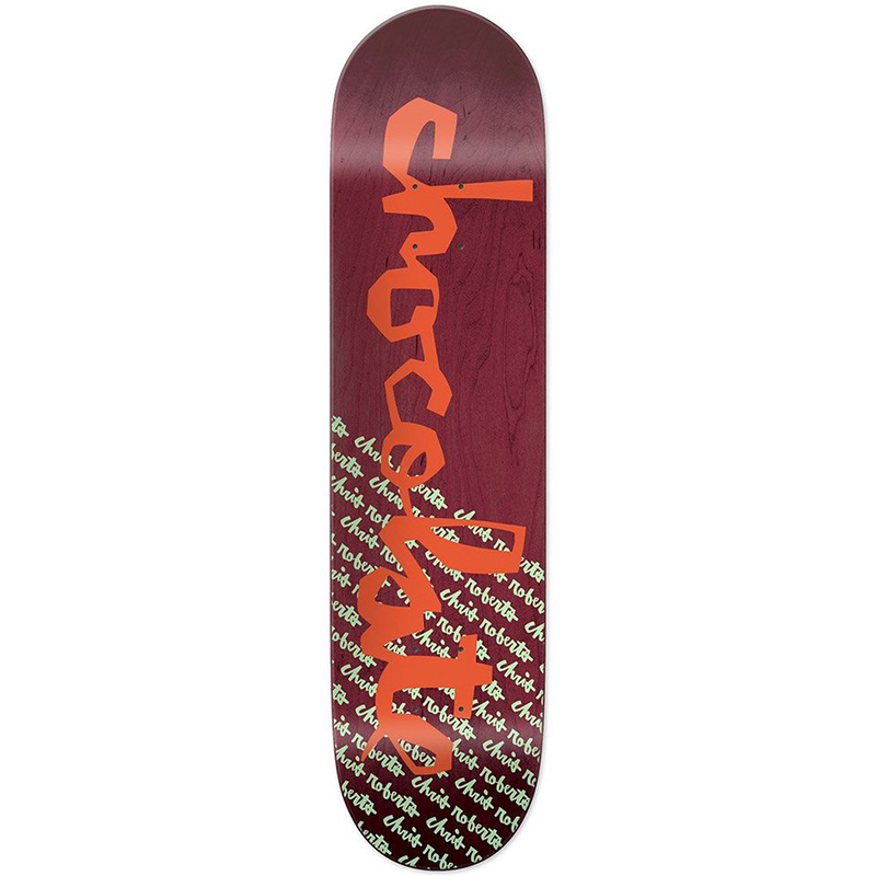Chocolate Roberts Original Chunk Skateboard Deck 8.0