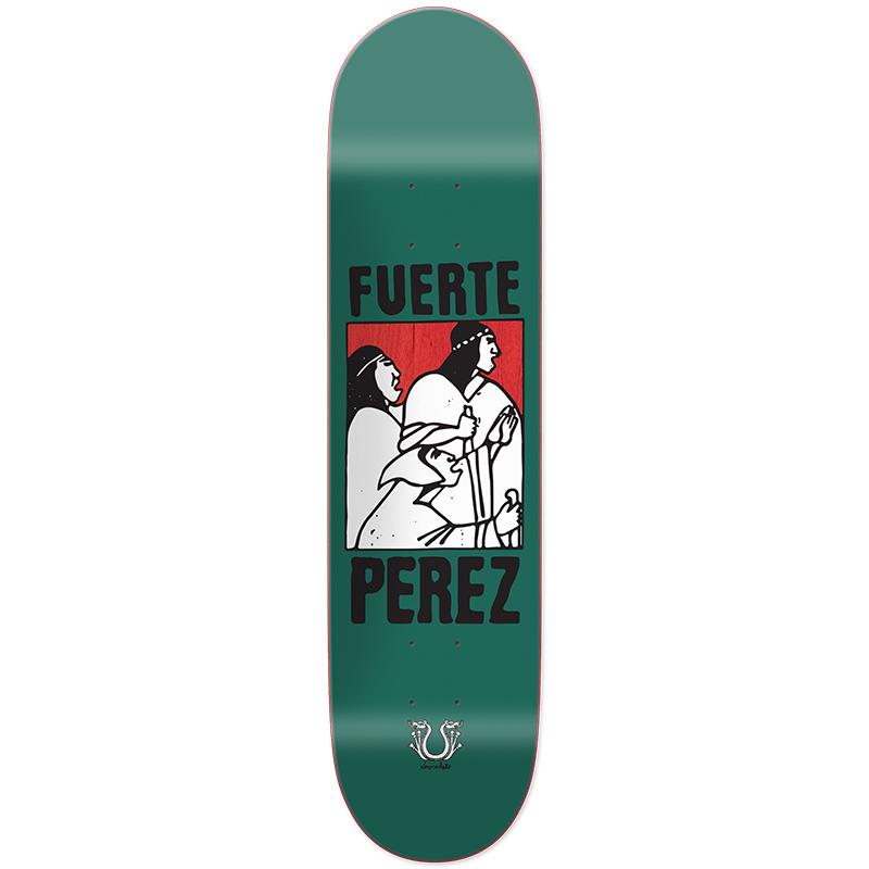 Chocolate Stevie Perez Fuerte Skateboard Deck 8.375