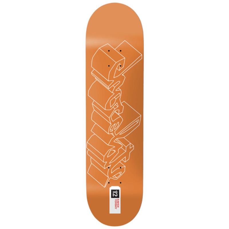 Chocolate Tershy 3D Chunk Skateboard Deck 8.5