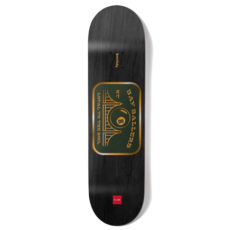 Chocolate Tershy Car Club Skateboard Deck Black 8.5