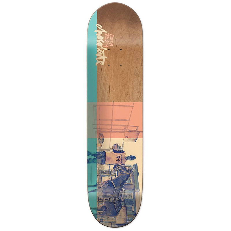 Chocolate Tershy City Cowboys Skateboard Deck 8.5