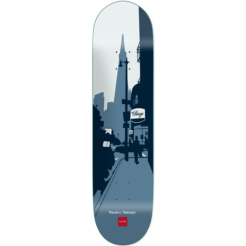 Chocolate Tershy City Series Skateboard Deck 8.25