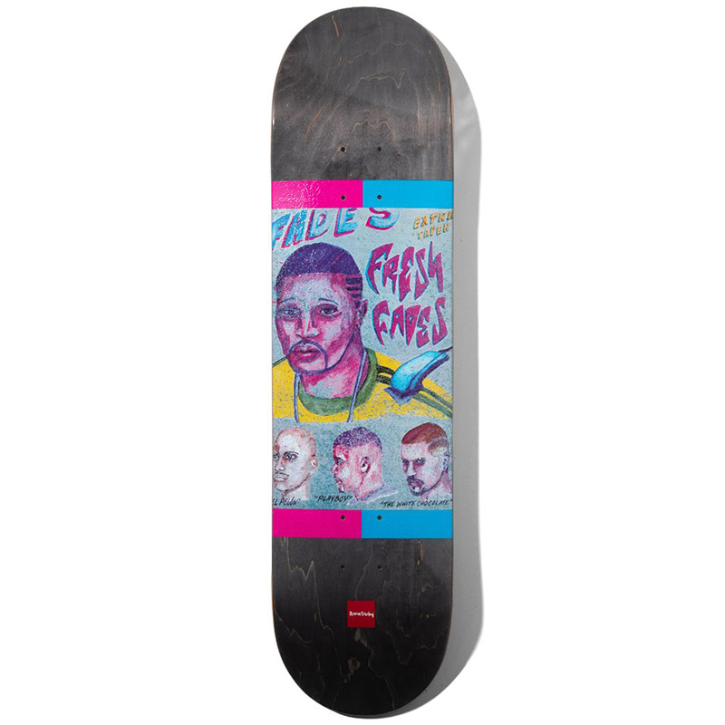 Chocolate Tershy Cuts Skateboard Deck 8.25