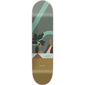 Chocolate Tershy Hecox Tropical Skateboard Deck 8.5