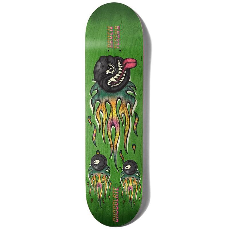 Chocolate Tershy Mad 8-Ball One Off Skateboard Deck 8.5