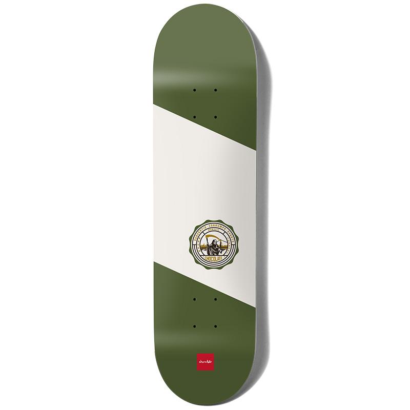 Chocolate Tershy Secret Society Skateboard Deck 8.5