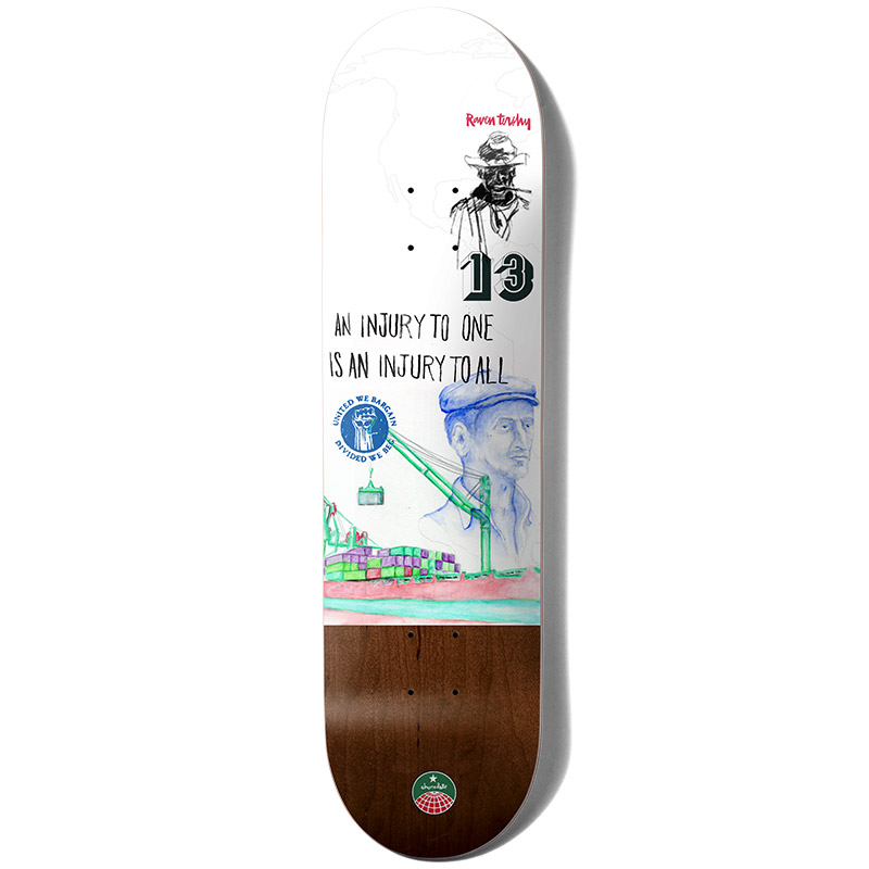 Chocolate Tershy Stevedore Skateboard Deck 8.5