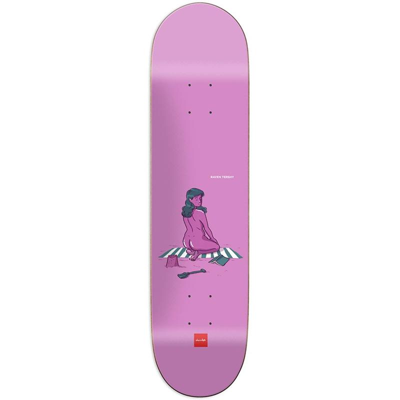 Chocolate Tershy Sun Bathers Skateboard Deck 8.25