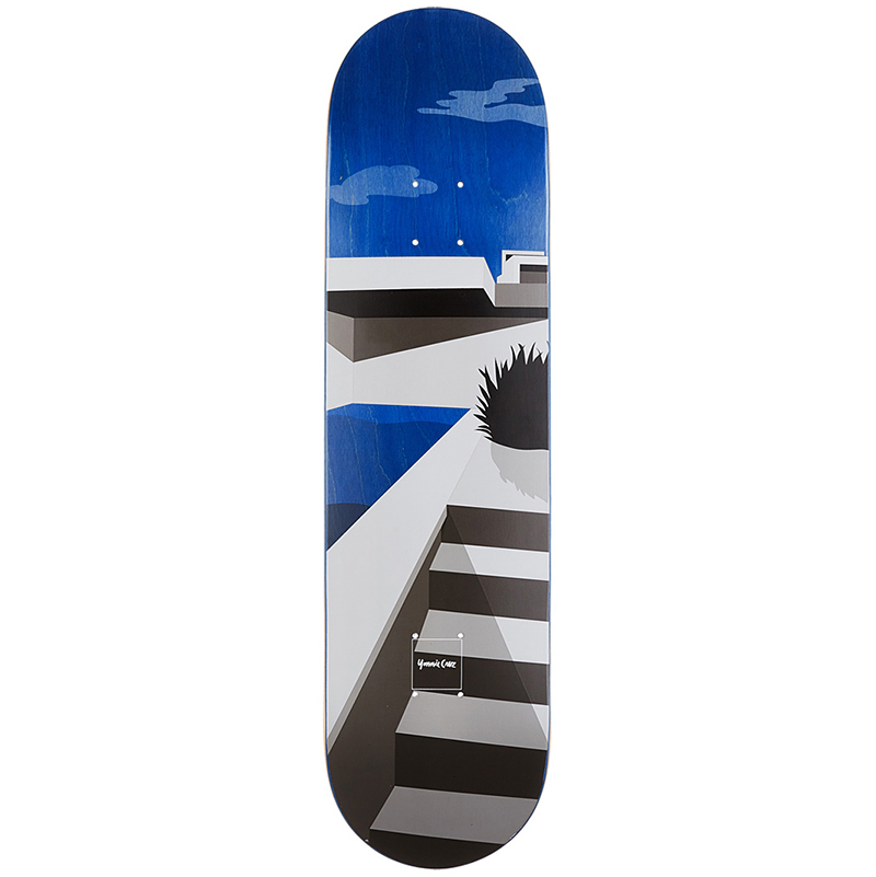 Chocolate Yonnie Cruz Minimalist Skateboard Deck 8.125