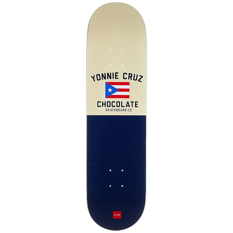 Chocolate Yonnie Cruz One Off Skateboard Deck 8.125