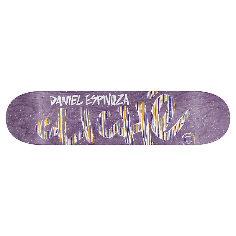 Cliche Espinoza Stripes Series R7 Skateboard Deck 8.0