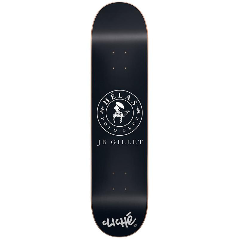 Cliche Gillet Helas Series With White BeanieR7 Skateboard Deck 8.0