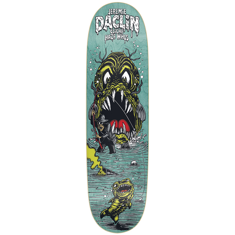 Cliche Haze Jeremie Daclin Directional R7 Skateboard Deck 8.375