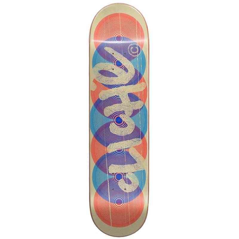 Cliché Hypnoze RHM Skateboard Deck Blue 8.25