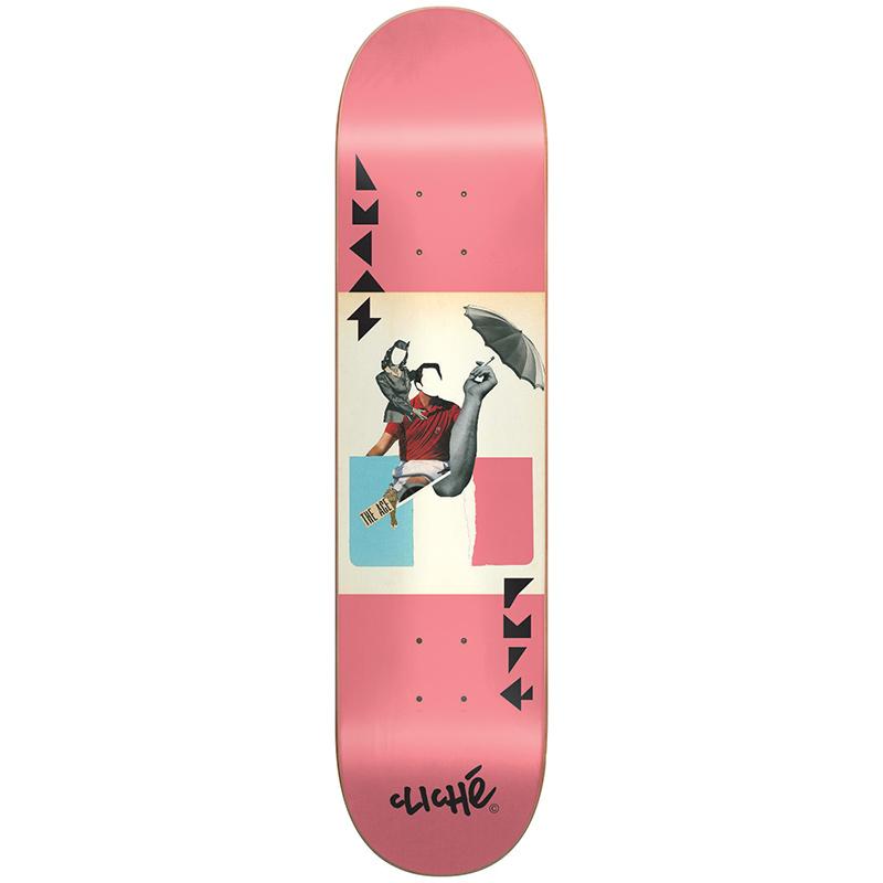 Cliche Lucas - Tierney Pro R7 Skateboard Deck 8.25