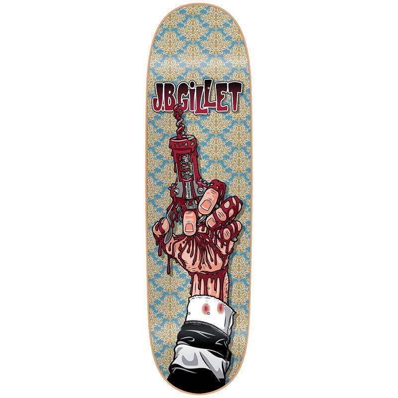 Cliche Tribute Garcon JB Gillet Skateboard Deck 8.625