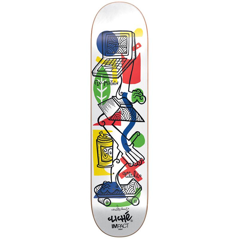 Clichex Nils - Mirtain Impact Light Skateboard Deck 8.25