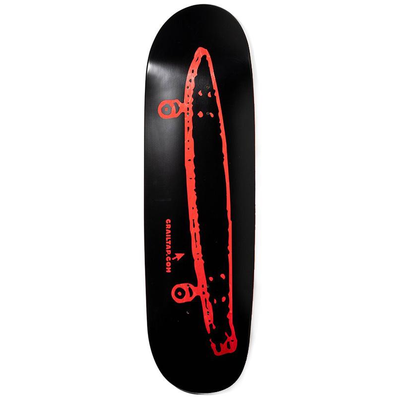 Crailtap Crailtap Midnight Rainbow Skateboard Deck 9.0