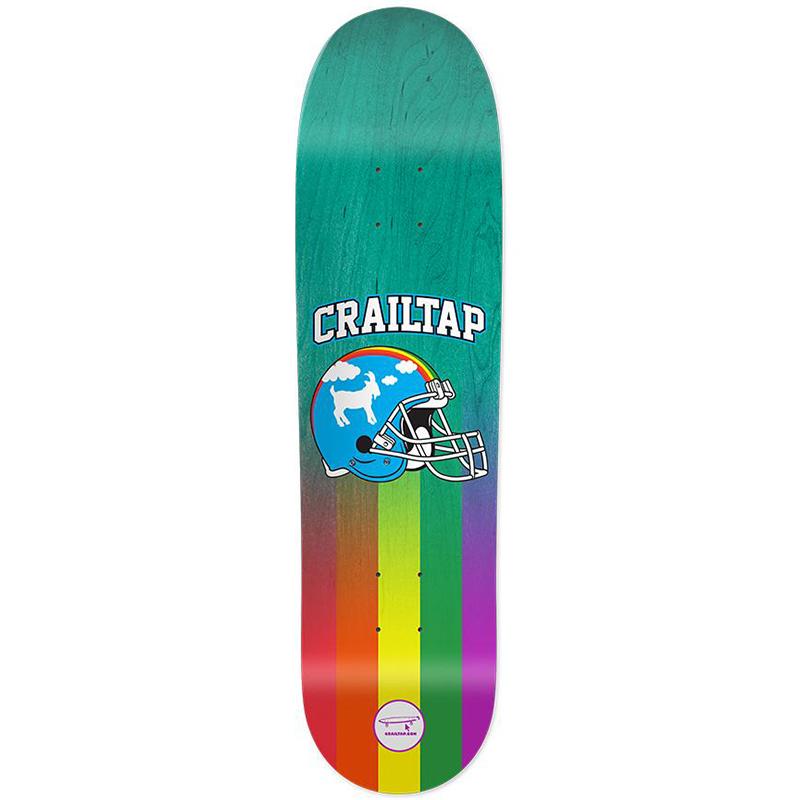 Crailtap Rainbow Dome Skidul Skateboard Deck 8.5