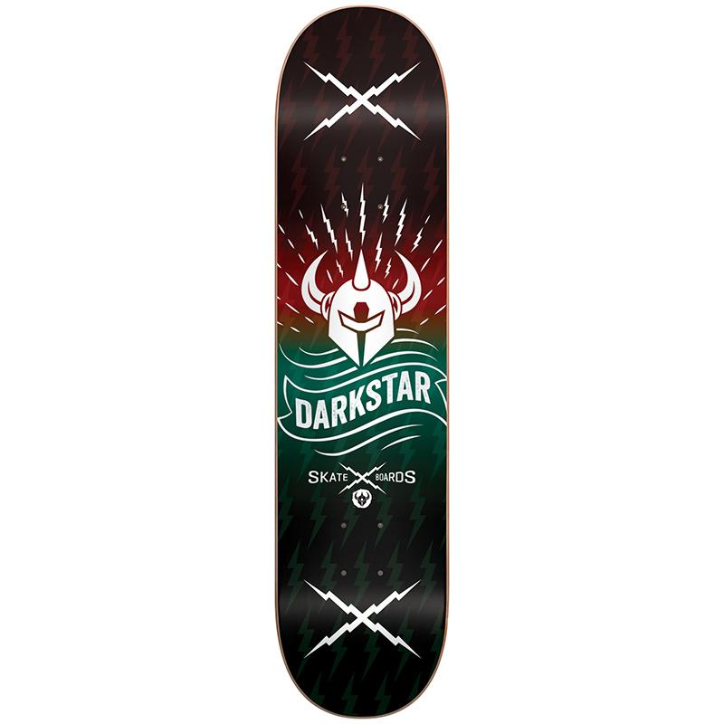 Darkstar Axis RHM Red/Aqua Skateboard Deck 8.0