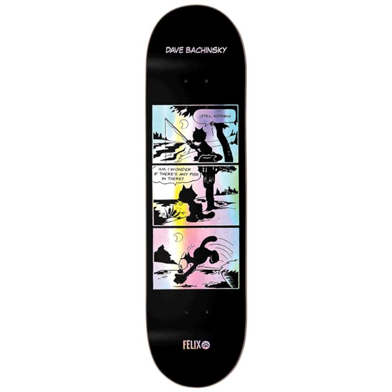 Darkstar Bachinsky Felix Comic R7 Skateboard Deck 8.0
