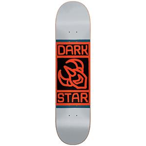 Darkstar Block HYB Skateboard Deck Grey 8.0