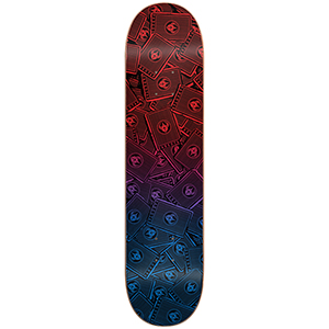 Darkstar Cards RHM Skateboard Deck Sunset Fade 8.25