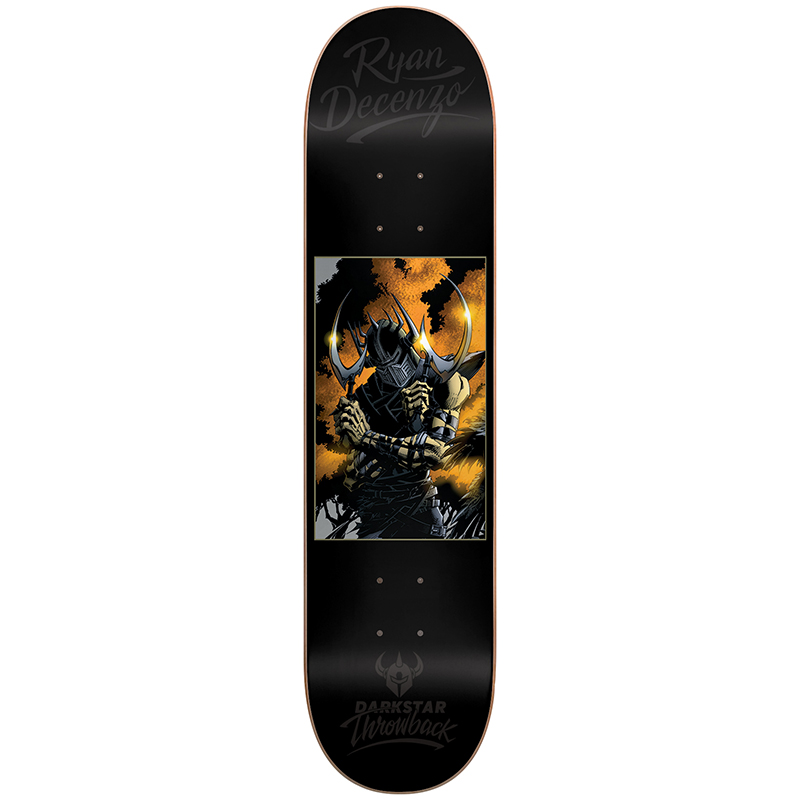 Darkstar Decenzo Throwback Impact Light Decenzo Skateboard Deck 8.0