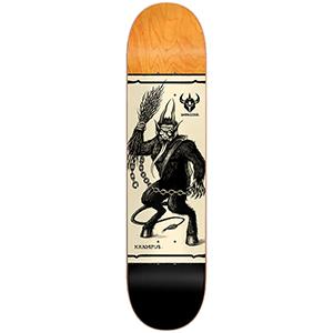 Darkstar Krampus HYB Skateboard Deck Black 8.125