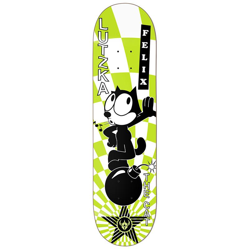 Darkstar Lutzka Felix Vortex R7 Skateboard Deck 8.125