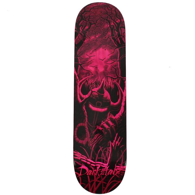 Darkstar Mckee Lurker HYB Skateboard Deck Pink 8.375